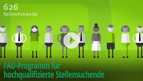 FAU-Programm für hochqualifizierte Stellensuchende
