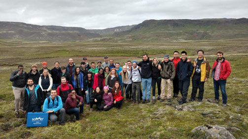 Iceland School of Energy 2016 class