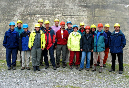 Group excursion of the 2003 EAWAG-Team, Rätrichsboden (KWO facilities), Switzerland