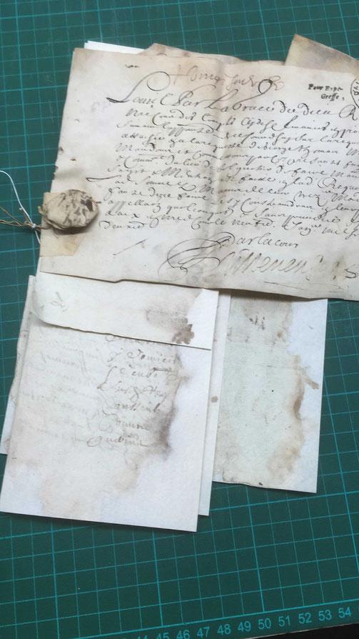 restauration papier escudié anne-gaële trigance