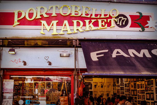 Notting Hill, Portobello Road, Portobello Market, London, Die Traumreiser