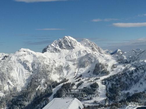 Früher Winterstart - November 2017 über 100 cm Neuschnee am Nassfeld!