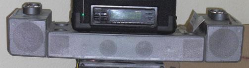 Sony SS-27 Deckenlautsprecher Front