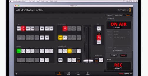 ATEM Software control. ATEM Mini, mezclador de video
