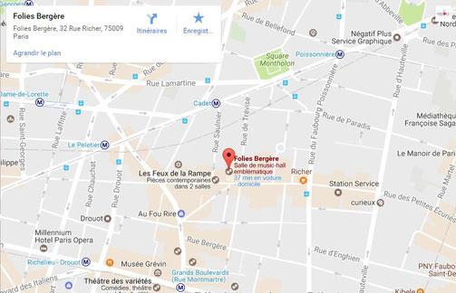 Parvis du ACCOR HOTELS ARENA à PARIS BERCY