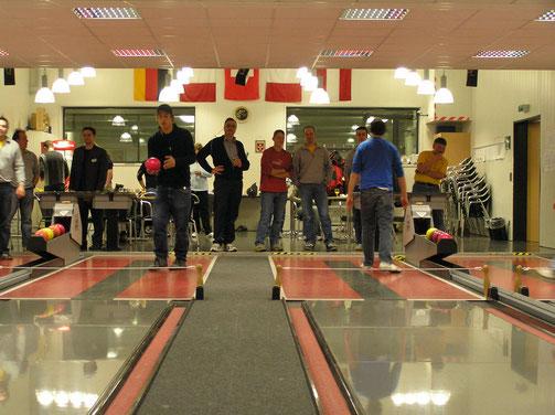 Sportkegeln im Forum Sumiswald Dezember 2005