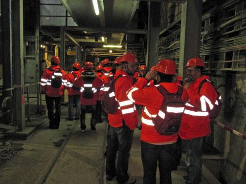 Besuch Neat Baustelle März 2011
