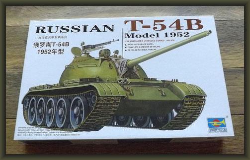 Russian T-54B Trumpeter