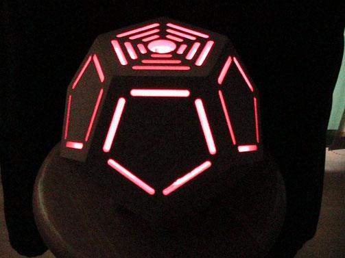Foto: Dodekaeder aus als Lichtspiel zur besondere Dekoration, Dekoration für Haus und Heim