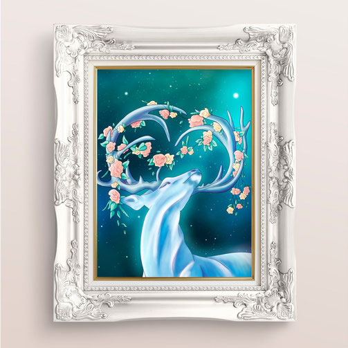 Etsy Qc, Relève Etsy, Moon Sprites, chevreuil de crystal
