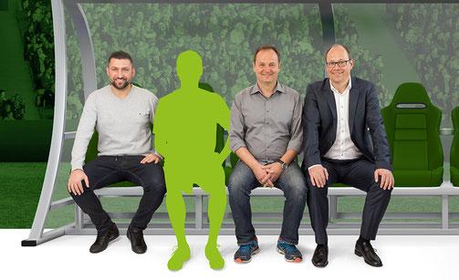 TM17 Team: Torsten Mattuschka, Mirko Dieseler, Dirk Suda