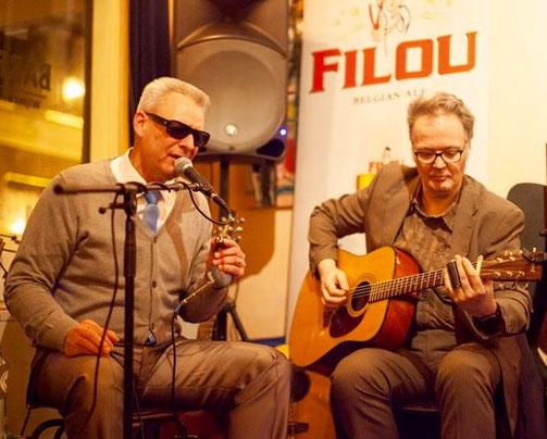 Blues Sound mit Harp Mitch und Helmut Jakobs
