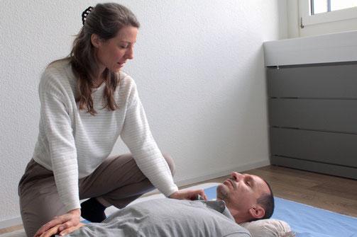 Komplementär Therapie mit Shiatsu Sonja Zürcher