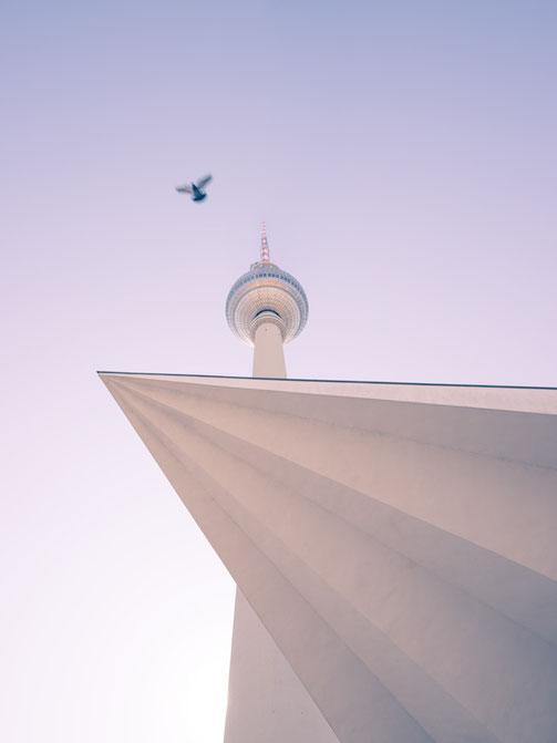 Berlin, Fotokunst, Fernsehturm, Berliner Fernsehturm, TV-Tower, Berlin-Mitte, Sehenswürdigkeiten,