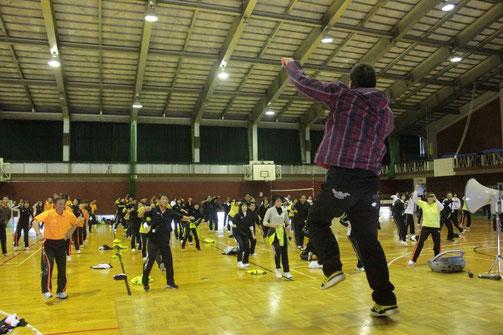 福井県生涯学習スポーツイベントにてダンス指導