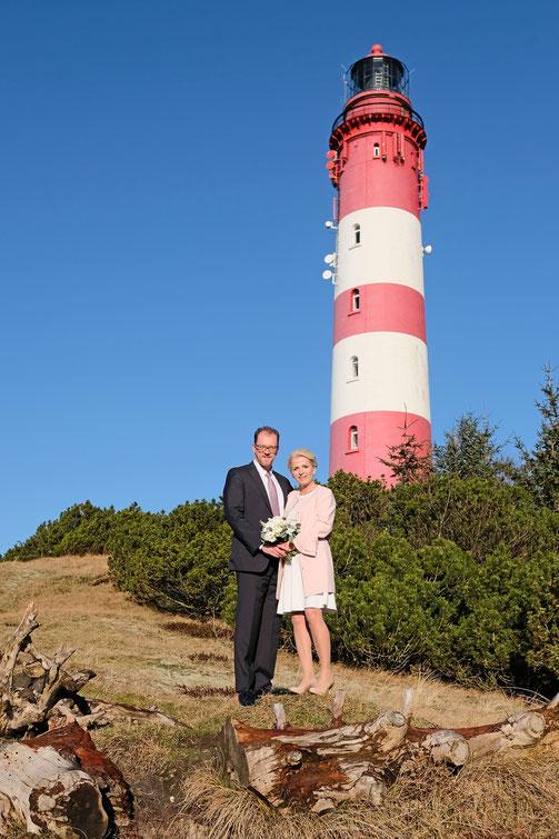 Leuchtturm Hochzeit Wittdün / Insel Amrum