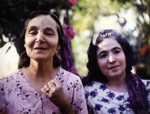 Mehera & Mani. Photo taken by Larry Karrasch