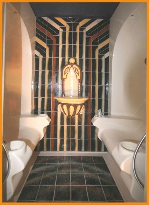 Day Spa, Hotel Atlantis, Reno, USA; Produktion Beate Seckauer, Neuzeughammer Keramik OG