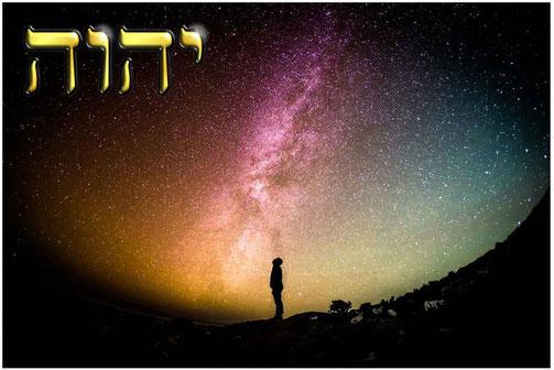 Les Israélites avaient le privilège incommensurable d'être le peuple du seul Vrai Dieu, YHWH, Yahvé ou Jéhovah, le Souverain Suprême de l'univers, de le connaître, de le servir, de communiquer avec Lui, de connaître son Nom.