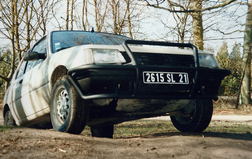 Peugeot 205 4x4 OFF ROAD Rallye Afrique