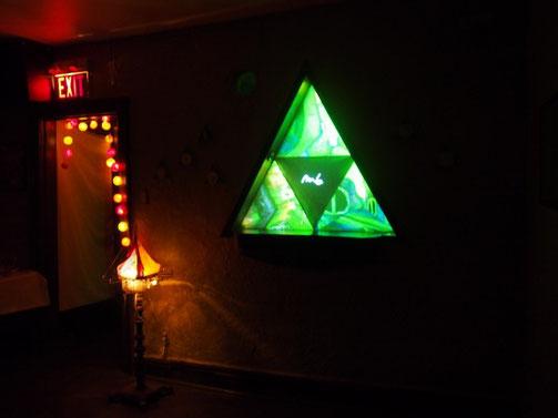 Mazi's installation