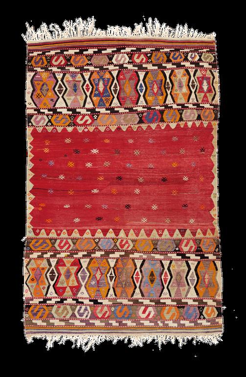 Nomaden Teppich, Zürich. Vintage kilim, Kelim aus Fethiye, Turkey