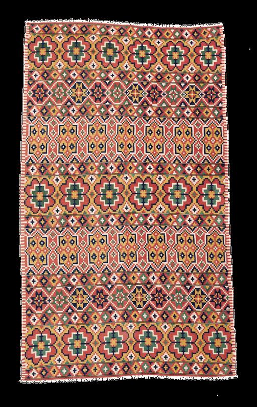 Swedischer Teppich, Zürich. Vintage kilim, Kelim. Rölakan, Rollakan