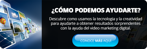 pantalla de video marketing digital CTA