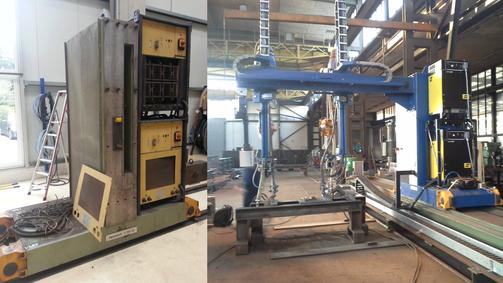 HAANE welding systems / service Überholung und Software