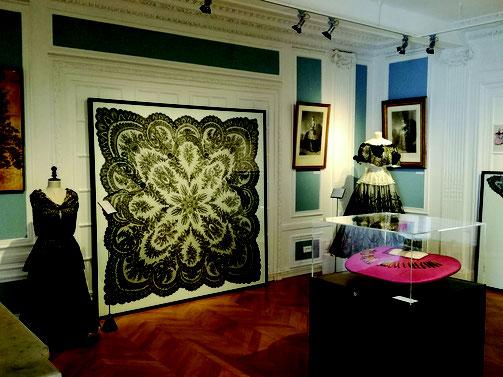 Photo, Musée de la dentelle de Chantilly.