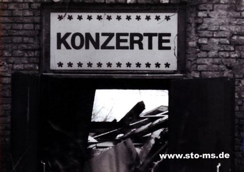 Der Abriss des Jovels an der Weseler Straße