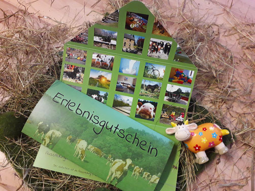 Urlaubs Gutschein auf dem Ferienbauernhof Vennhof in Monschau / Eifel