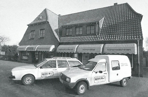 1985 - Unternehmenssitz in Westerstede, Am Esch 29