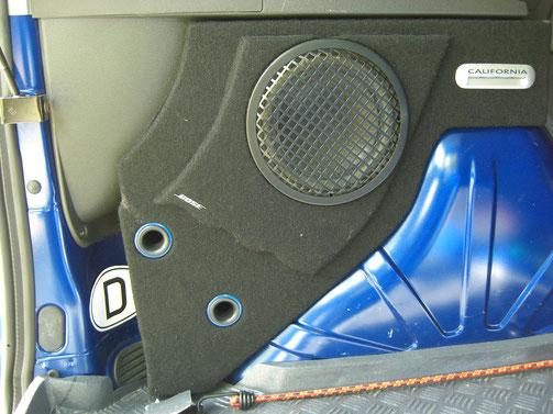 Subwoofer Kofferraum
