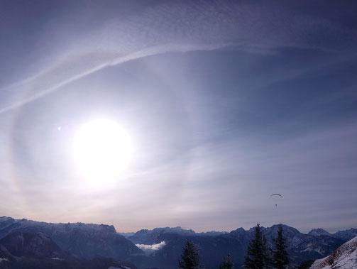 Sonnenhalo, Sonnenportal, Energieportal, Energiearbeit, Bewusstseinswandel, Alles fließt, alles ist Energie