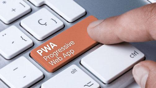 Eine progressive Web App (PWA) ist eine App, die modernste Web-Technologien verwendet wie HTML5, CSS3 und JavaScript.