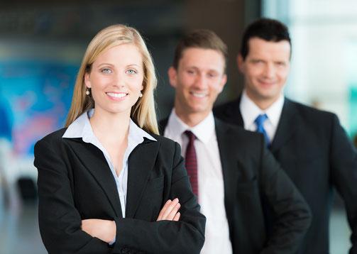 Mann Frau Business Karriere Stärkenprofils Bewerbungsservice Bewerbung Erfolg erfolgreich