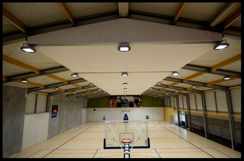 Golden Bay Recreation Centre Main Gymnasium Acoustic Panels