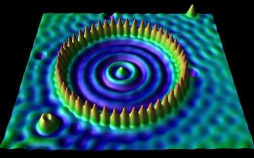 Etude de surface par un microscope à effet tunnel
