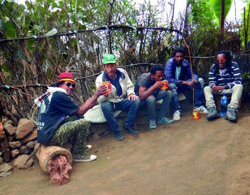 Randonnée à Lalibela_trekking around lalibela Voyage Ethiopie  Commerce solidaire Mawuli-Ethiopie (c)Textes et Photos Pascal Mawuli Mace Lalibela Lanscape Ethiopia