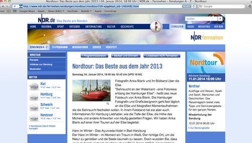 """___NDR TV """"Nordtour - Das Beste aus dem Jahr 2013"""" -    Klick = Bildvergrösserung"""