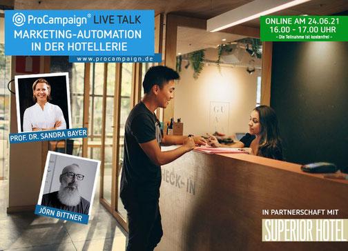 Livetalk für Hotelunternehmen