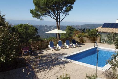 Villa avec piscine privée à louer pour les vacances pour 11 personnes, lloret de Mar location vacances Costa Brava