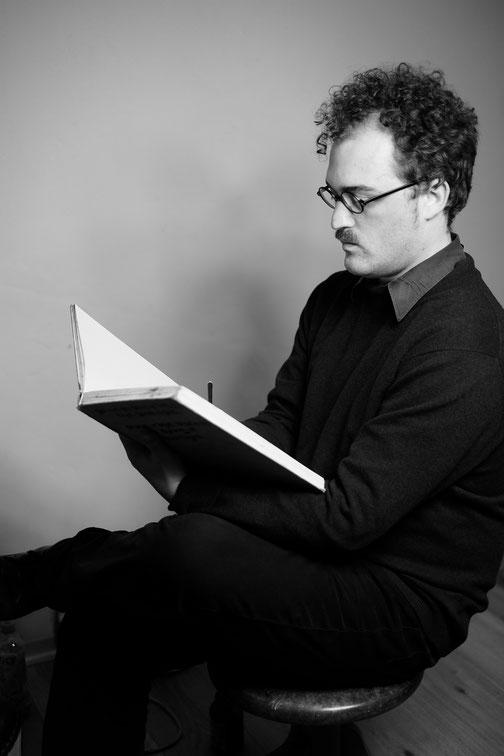 Comiczeichner und Graphic Novel - Autor Moritz Stetter aus Hamburg
