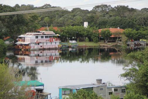 Notre hôtel au bord de la rivière Miranda