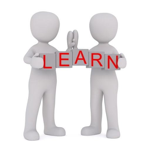 登壇者と聴講者で学びと気づきを高め合うイメージのイラスト