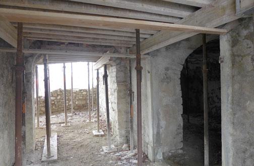 der Eingang zum Gewölbekeller