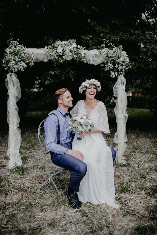 Zur Fotostory Boho Hochzeit