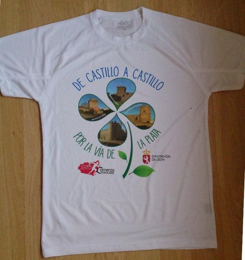 Bonita camiseta con la que se obsequiará a cada participante.