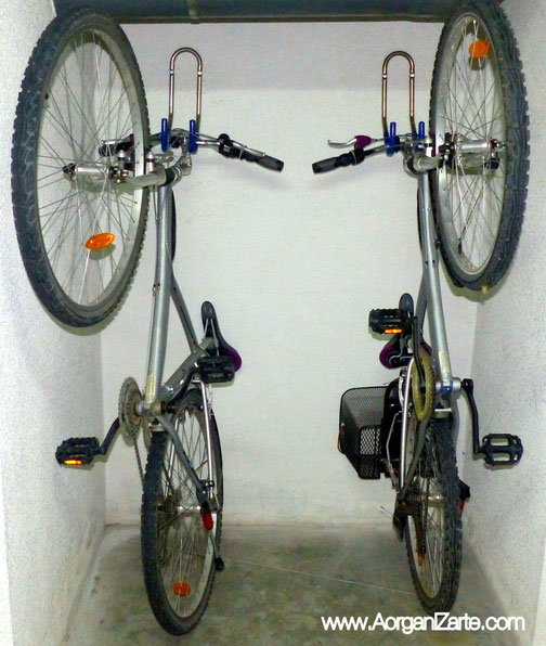 Organiza el trastero no m s trastos organ zate de la a for Armario exterior para guardar bicicletas